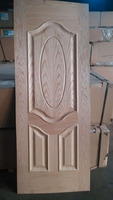 hdf black walnut veneer skin door
