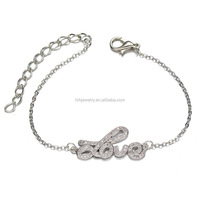 China Fashion Accessories Jewelry Silver Plated