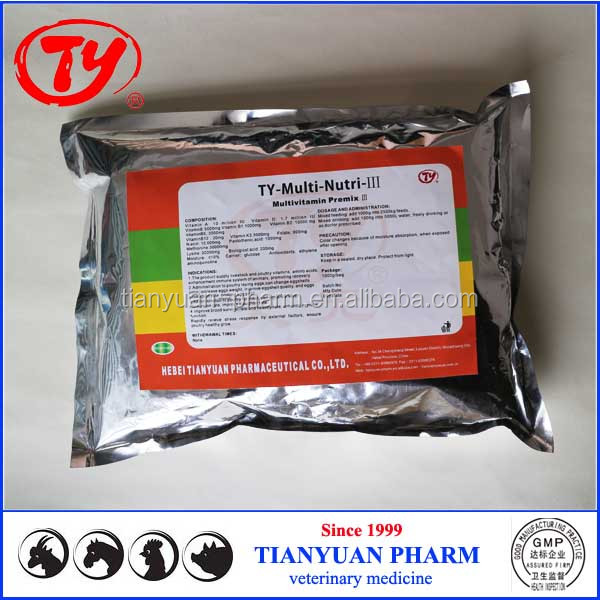 weight gain Vitamin Premix powder growth promoters for poultry and livestock nutrition medicine