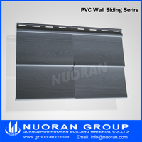 Decorative country side external pvc vinyl siding pvc wall panel