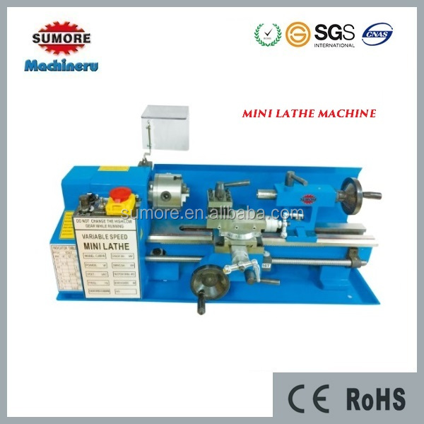 CQ0618 China hobby mini bench lathe for sale SP2102