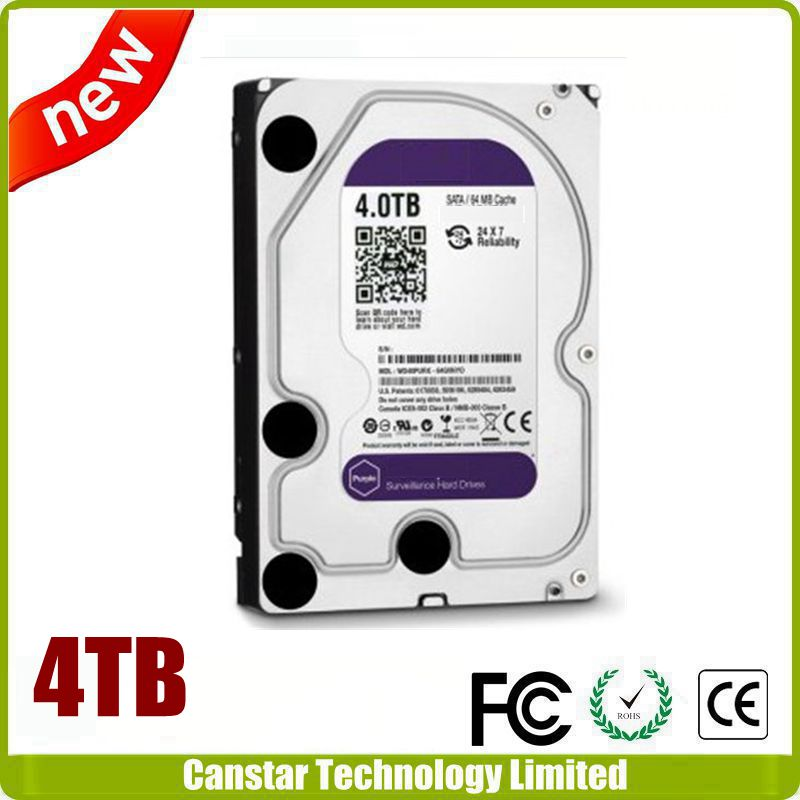 "3.5"" SATA 4TB purple HDD Hard Drive"