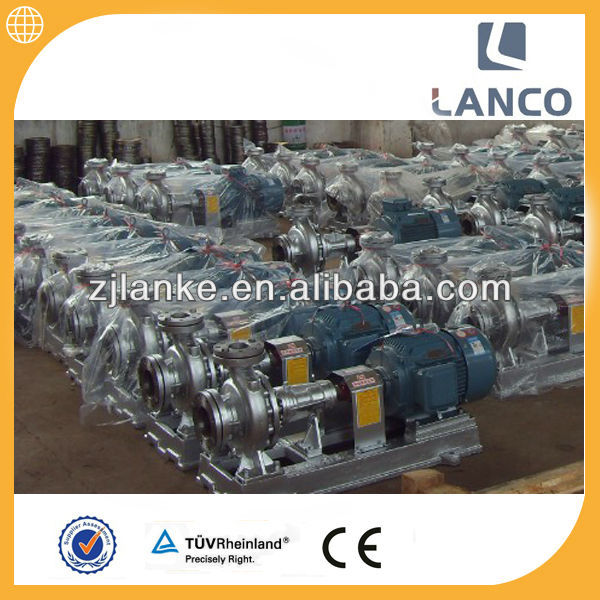 Lanco brand Centrifugal thermo oil pump with 3 phase motor