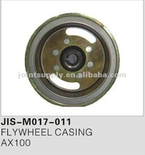 Motorcycle spare parts and accessories motorcycle flywheel casing for AX100