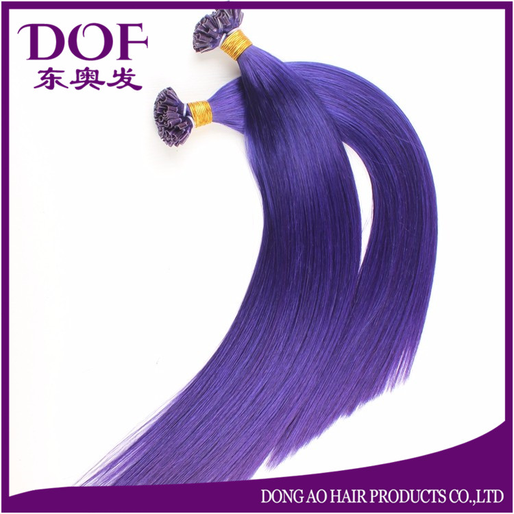 High Quality Factory Wholesale Silky Straight Wave U Tip Human Hair Extensions