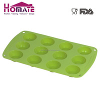 Silicone 12-cup mini tartlet mould 12 Cup silicone mini cake moulds,silicone muffin baking cupcake pan molds