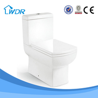 Alibaba china manufacturer bathroom two piece toilet