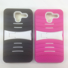 High Quality Stripes Kickstand Boost Mobile Phone Case Cover For Kyocera C6743 Hydro Reach Case