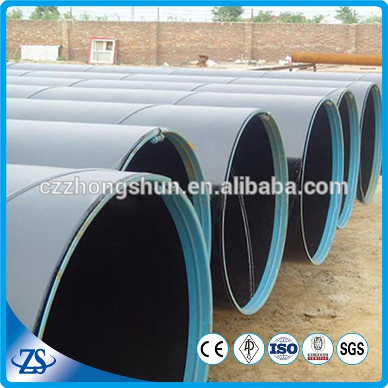 Api 5l big-diameter spiral welded iron round steel pipes
