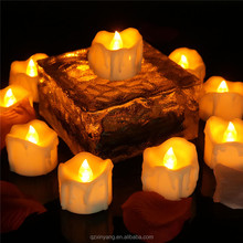 ODM/OEM Service Battery Operated Spiritual Yellow Flickering Led Candle