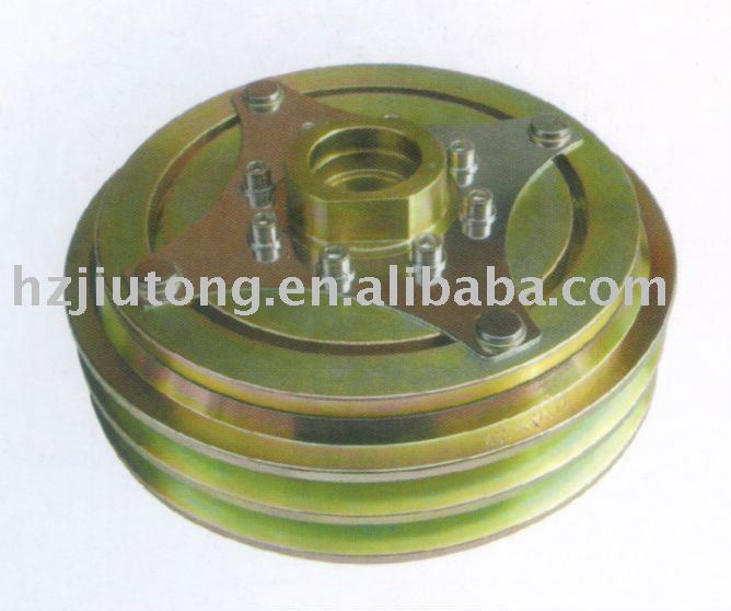 auto air conditioning/ conditioner a/c parts Electromagnetic clutch for Kinglong/ Higer/ Golden dragon/ Yutong bus