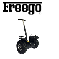 Freego green power off road standing electric scooter with big wheels