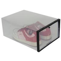 HOT SALE Transparent Shoe Boxes Clear Plastic PP Storage Box Packaging Box