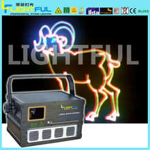 1w programmable laser light holographic projector laser christmas outdoor