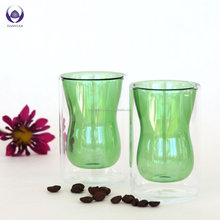 160ml creative morden hot lady figure shaped drinking glass cup