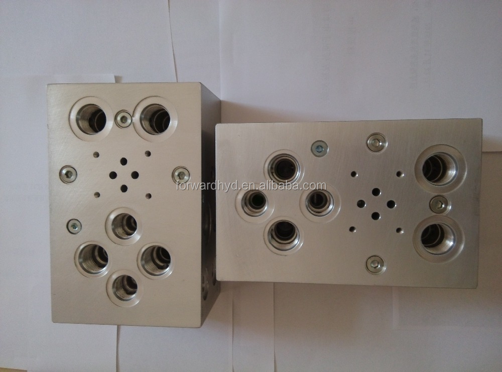 cnc milled raw aluminum block