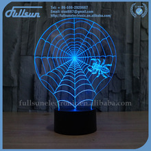 hot selling 3d color led light toy gift for present