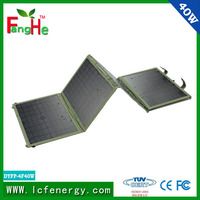 Fabulous! solar power charger for hiking camping and traveling etc