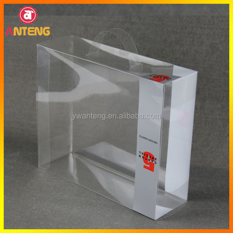 Clear Plastic Packaging Box for mouse pad