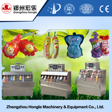 4nozzles8nozzles12nozzles Plastic Juice Water Yogurt Jelly Drinks Tube Bag Filling Sealing Packing Machine