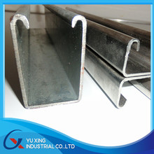 Hot dip galvanized structure strut channel / C channel
