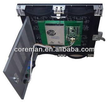 alibaba in spanish p6 die-casting led cabinet /indoor full color rental led display