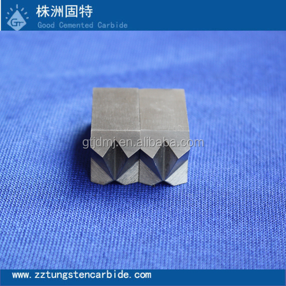 Professional manufacturer of tungsten carbide inserts for machines