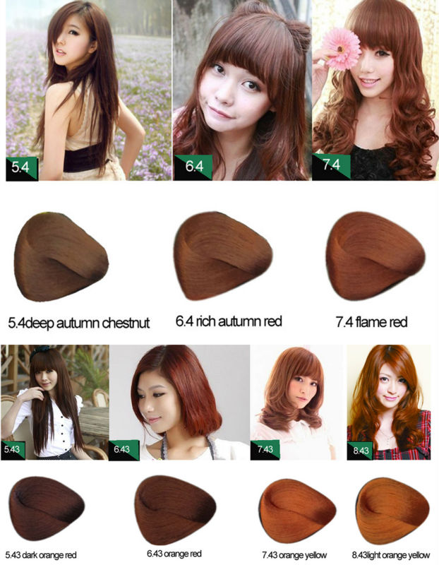 Private Label Permanent Natural Hair Dye View Hair Color Lumina