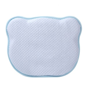 Machine Washable Memory Foam Newborn Infant Kid Flat Head Shaping pillow