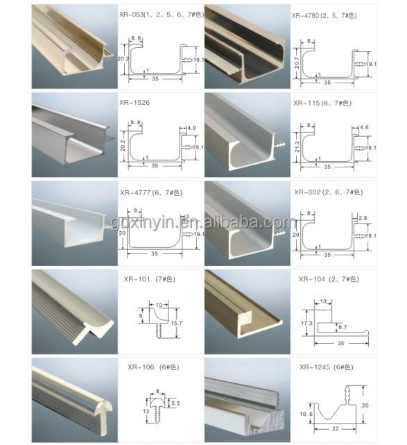 Popular L Shape Aluminum Hidden Kitchen Cabinet Handle