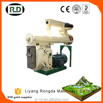CE/GOST/ISO certificated poultry and livestock feed mill machine/animal feed pellet machine producing line