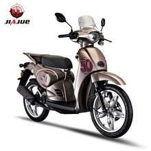 Safe 150cc air-cooled 2 wheeler gas scooter with comfortable seat