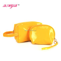 factory direct sale lady fashion PU cosmetic bag