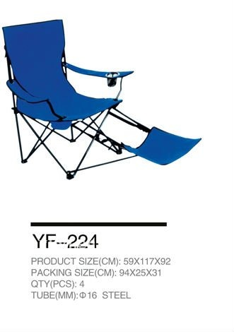 folding canvas Camping Chair for enjoy