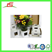 Q1381 China Supplier Customized Printed Corrugated Packaging For Flower Pots, Fold Floral Delivery Boxes