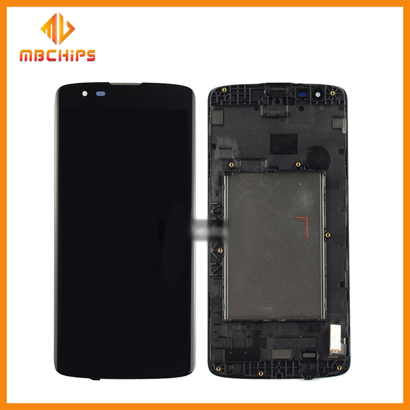 For Lg mobile phone spare parts K8 LCD Display Screen+ Touch Screen Digitizer Assembly black color