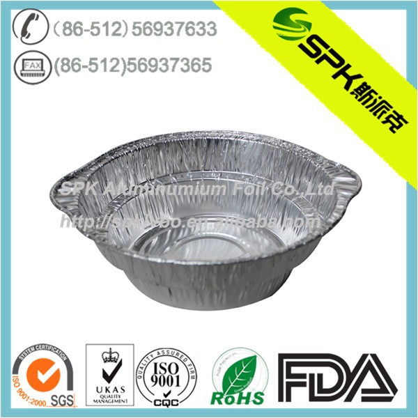 disposable aluminum foil bowl 12011