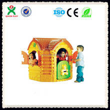 Happy Bear design wholesale children playhouse QX-158H/ kids clubhouse/ plastic play house/ play house for kids