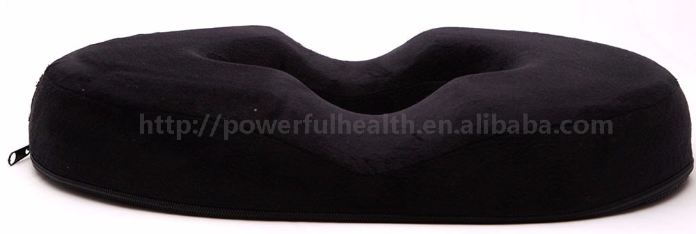 18 Inches Hemorrhoid Treament Donut Tailbone Cushion for Hemorrhoid , Prostate Cushion
