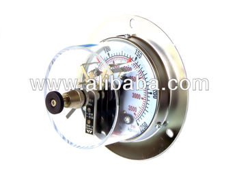 Pressure Gauge With Electric Contact, Digital Gauge/Switches
