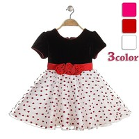baby girl party dress children frocks designs ruffles style heart printed dresses latest design baby frock
