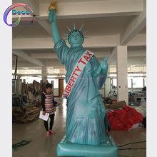 gian inflatable air cartoon statue of Liberty