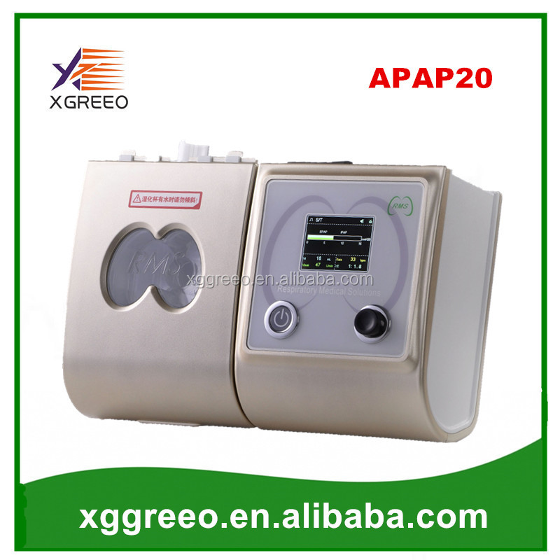 XGREEO APAP20 Respiratory machine sleep therapy device CPAP maquina with mask
