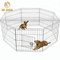 "Eight 24"" Wide x 30"" High Panels Playpen for Dogs"