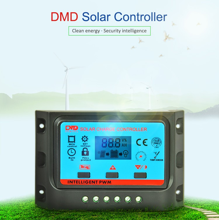 12v solar regulator 10amp pwm water pump street light controller mppt solar charge controller