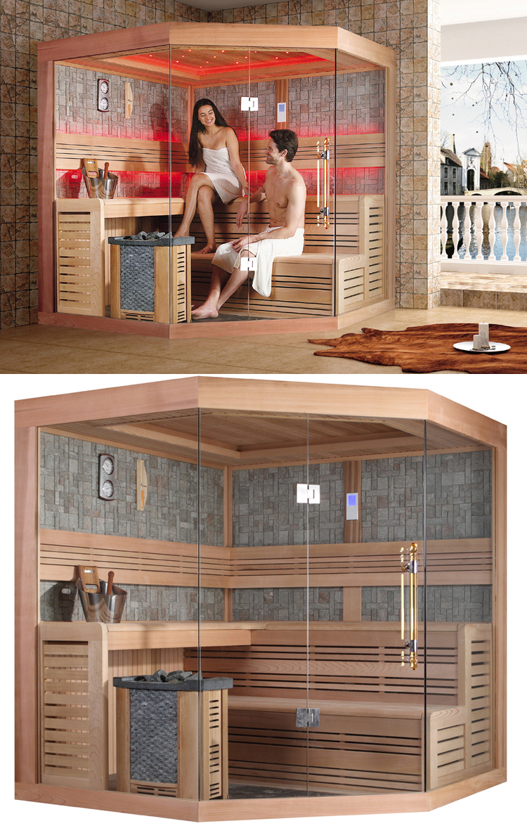 4 person diy dry sauna room HS-SR1242