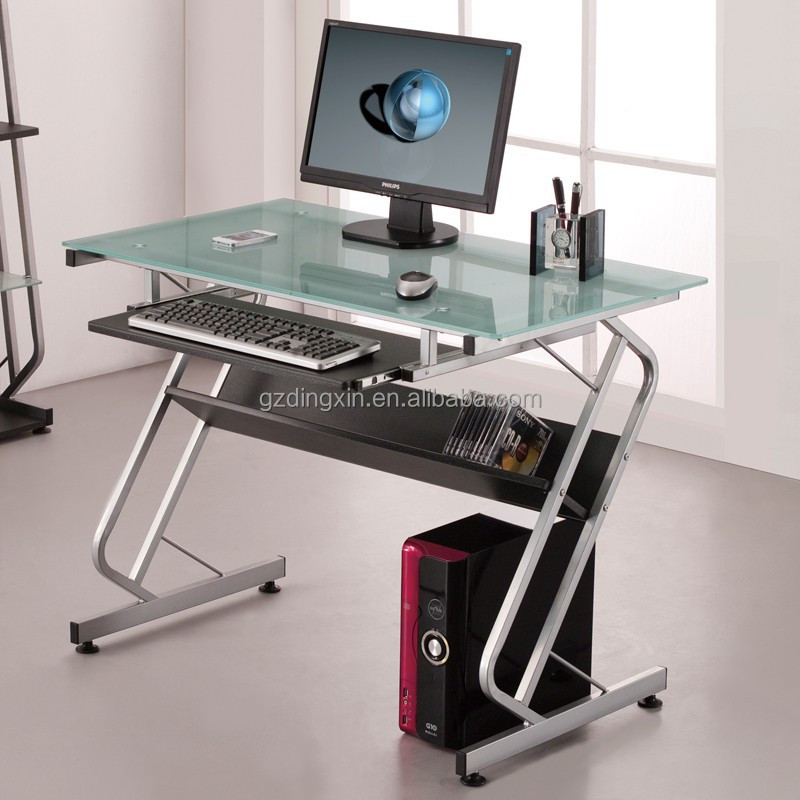 Simple Computer Table Design Of Glass Top Buy Latest