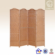 2016 new style folding living room decorative partitions decor hotsale wood folding screens