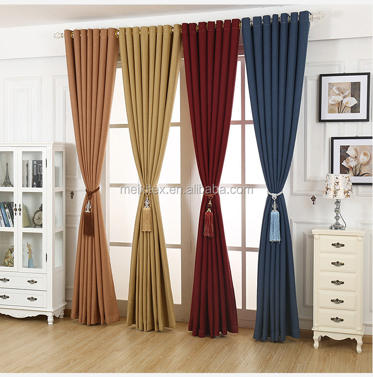 Different Curtain Types Modern Style Waiting Room Blackout Jacquard Curtain Buy Blackout