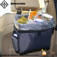 Universal Waterproof Car Garbage Can Auto Back Organizer Car Trash Bag